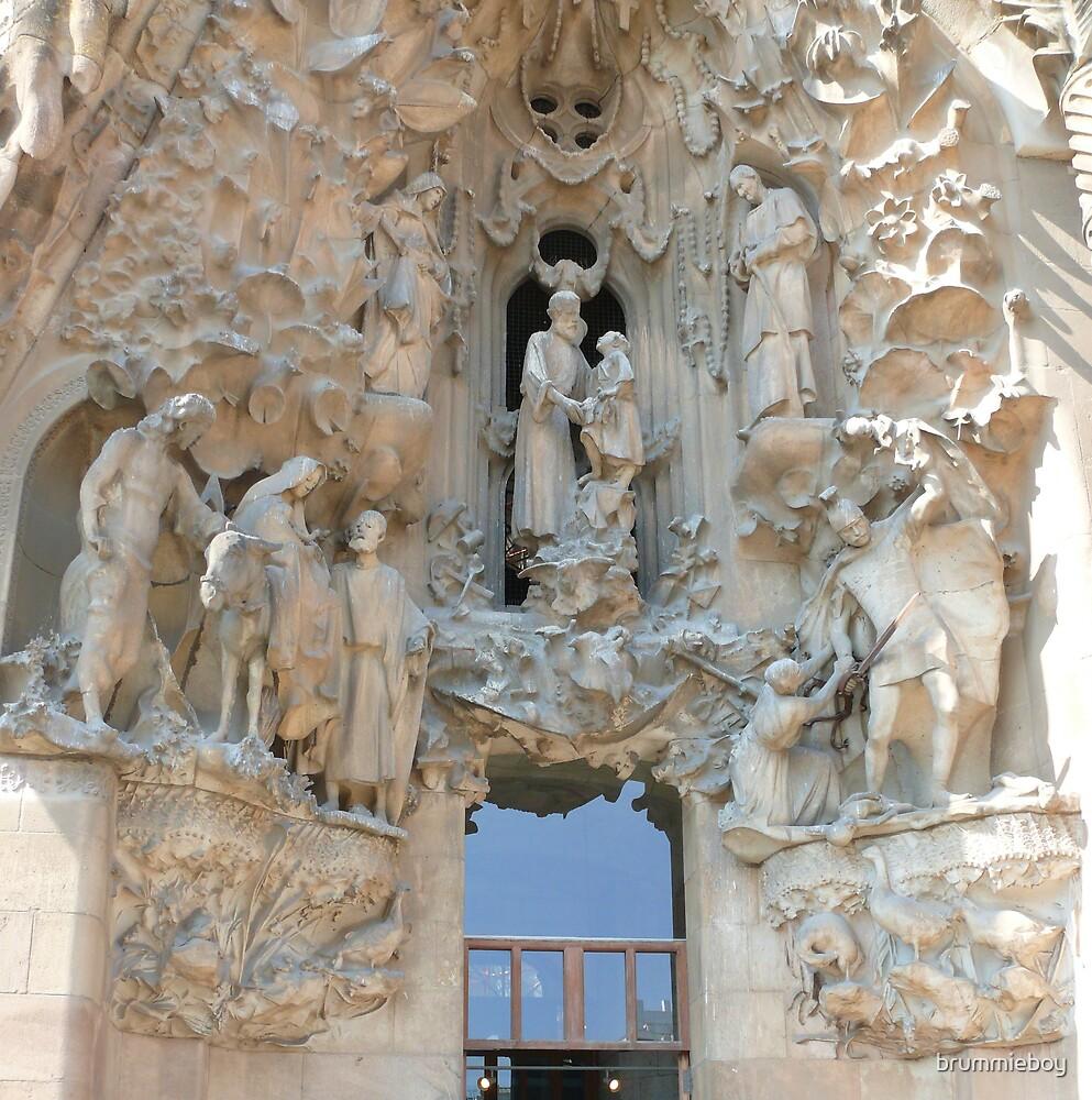 La Sagrada Familia by brummieboy