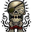 Pirate Tiki (Variant) - By Landron Artifacts by landronart