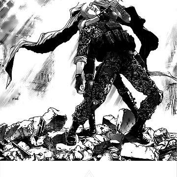 Ghost in the shell Manga by SerenaFreak
