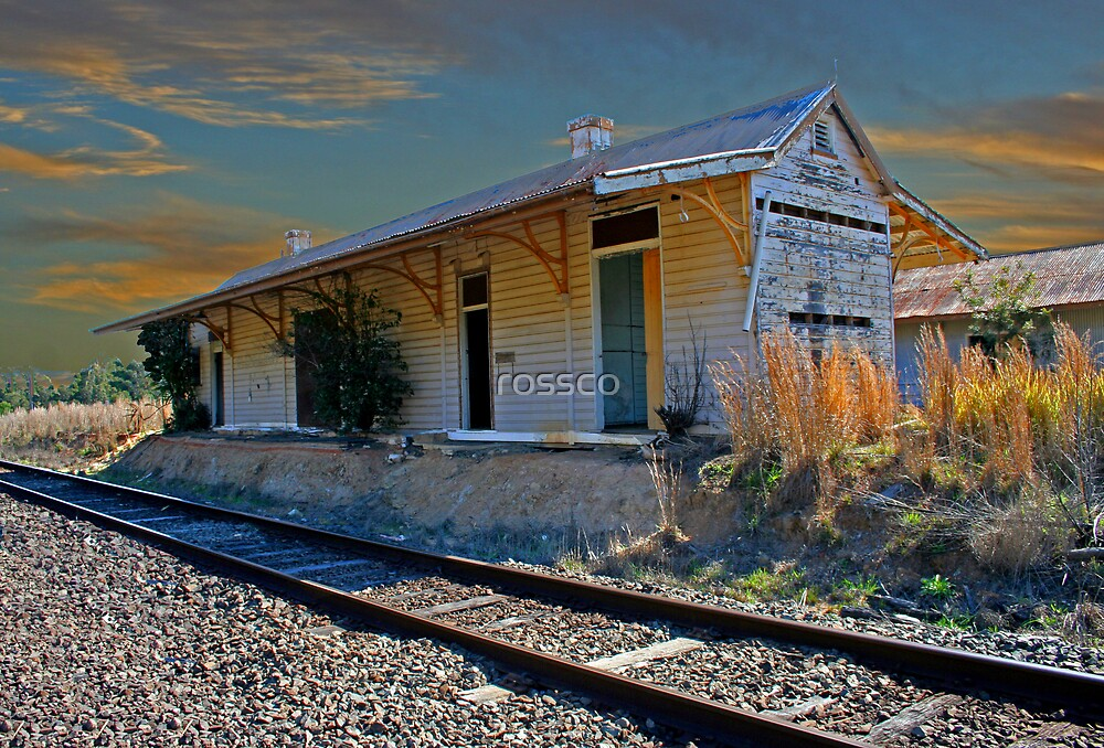 Glenreagh Railway Station by rossco