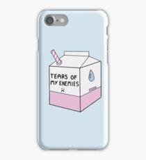 Tears of my Enemies iPhone Case/Skin