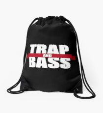 Trap And Bass Drawstring Bag