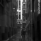Rainy Lane by sparrowhawk