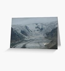 Glacier in Austria Greeting Card