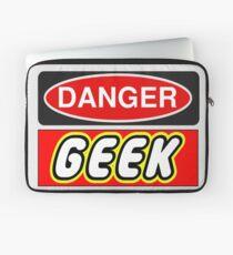 Danger Geek Sign Laptop Sleeve