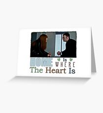 Fringe - Fauxlivia & Lincoln Greeting Card