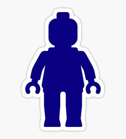 Minifig [Large Dark Blue], Customize My Minifig Sticker