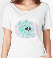 Liches get stitches Relaxed Fit T-Shirt