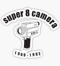 Super 8 Camera Sticker