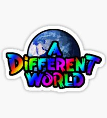 A Different World color Sticker