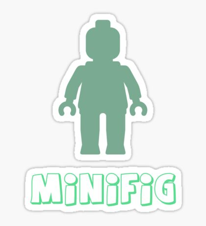 Minifig [Sand Green], Customize My Minifig Sticker