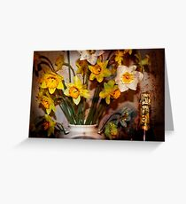 '' MOET FOR ONE '' Greeting Card