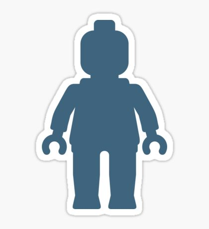 Minifig [Large Navy Blue], Customize My Minifig Sticker