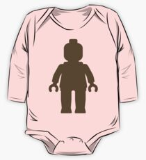 Minifig [Large Light Brown], Customize My Minifig One Piece - Long Sleeve