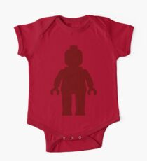 Minifig [Large Dark Red], Customize My Minifig One Piece - Short Sleeve