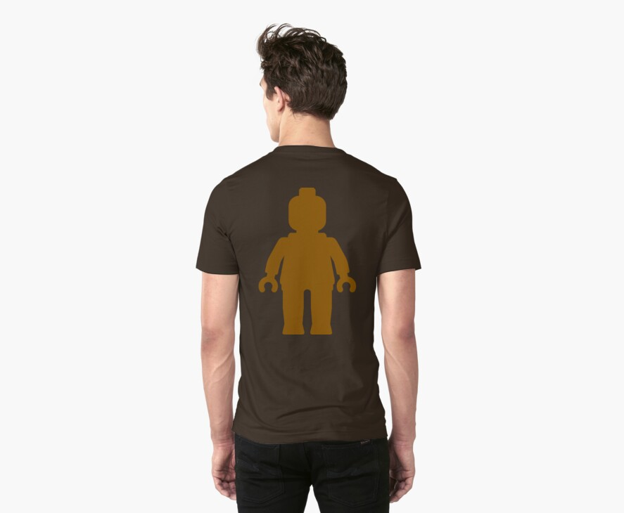 Minifig [Large Brown], Customize My Minifig by Customize My Minifig
