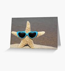 Star in Shades Greeting Card