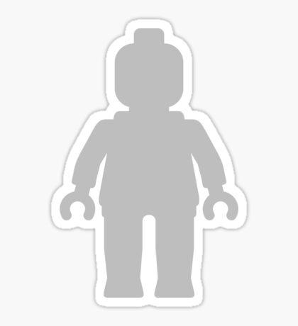 Minifig [Large Light Grey], Customize My Minifig Sticker