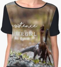 Persistence, Clever Girl Chiffon Top