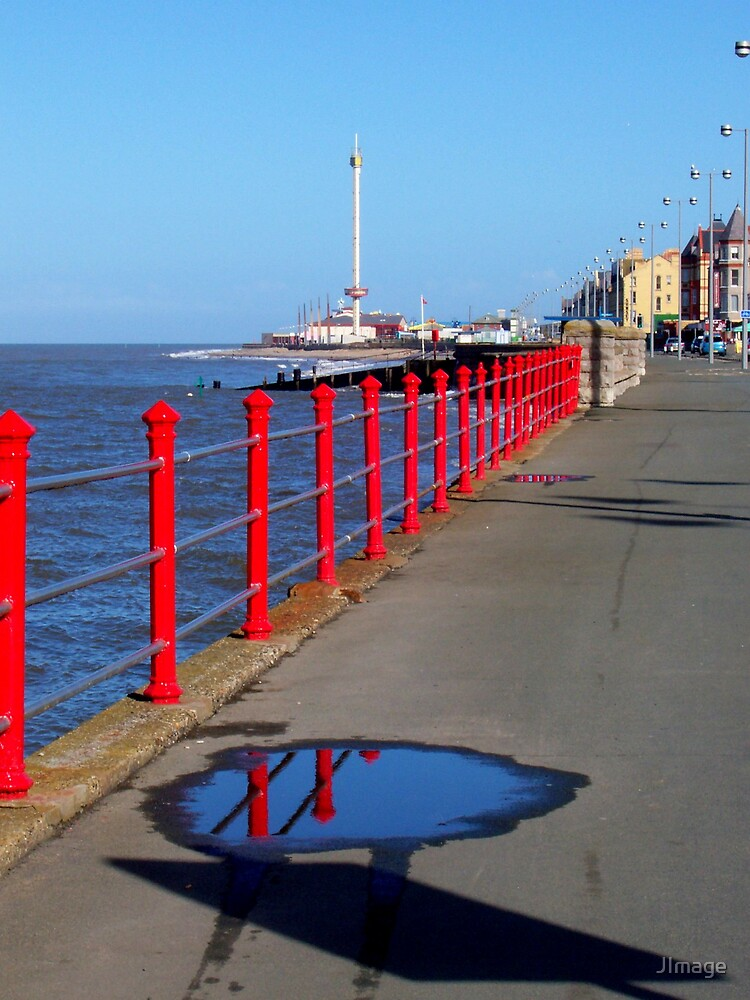 Puddle on the Prom by JImage