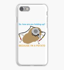 Portal - Because I'm A Potato iPhone Case/Skin