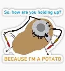 Portal - Because I'm A Potato Sticker