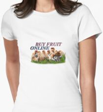 BUY FRUIT ONLINE Womens Fitted T-Shirt