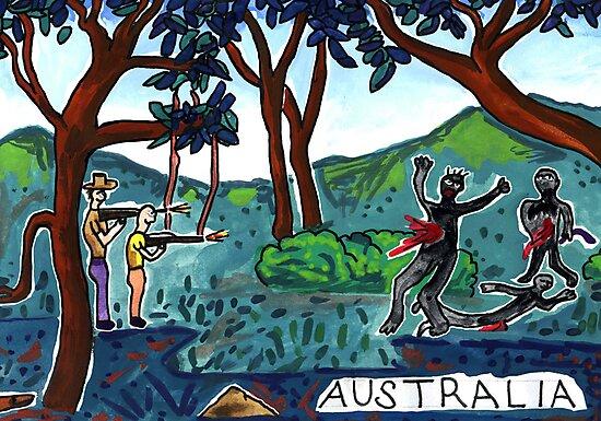 Australia - civilising through genocide by John Douglas