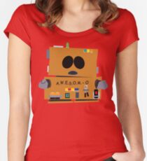 SP - AWESOMO 2000 Women's Fitted Scoop T-Shirt