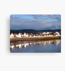 Houses at Deganwy Canvas Print