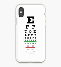 Eye Chart iPhone Case