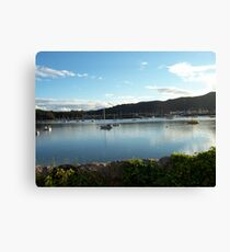 View from Deganwy Station Canvas Print