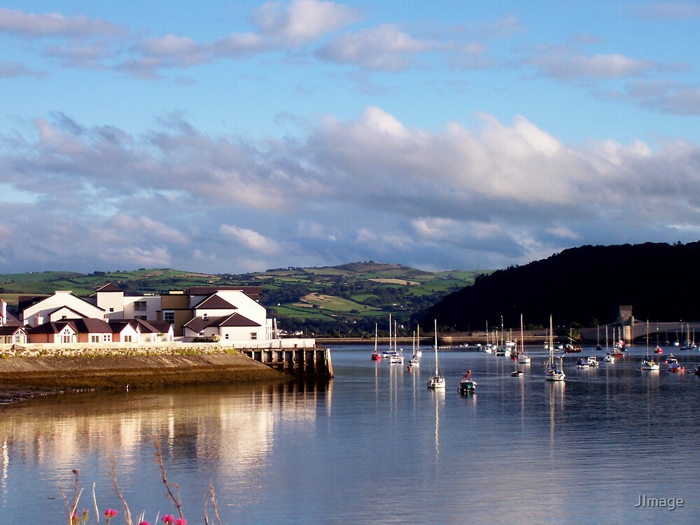 Deganwy Reflections by JImage
