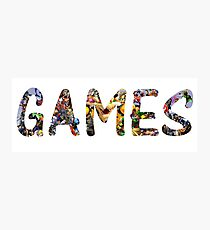 GAMES Photographic Print