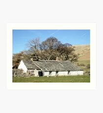 Bowness Cottage Art Print