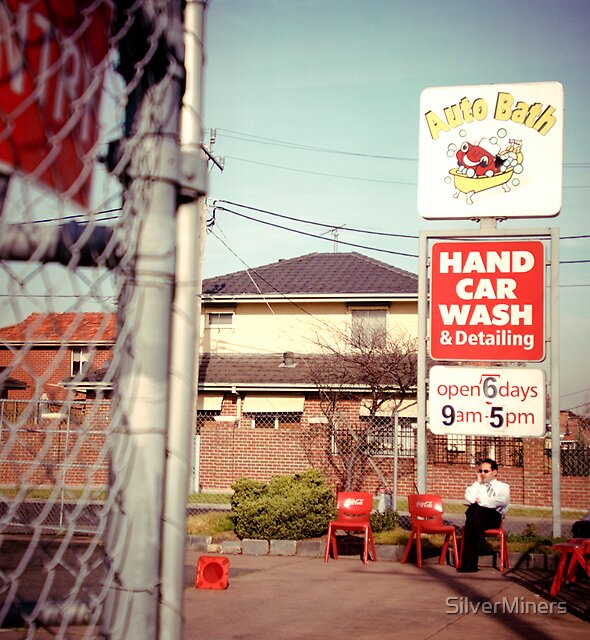At The Carwash by SilverMiners