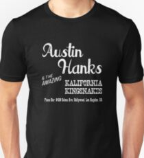 Austin Hanks and the amazing Kalifornia Kingsnakes Unisex T-Shirt