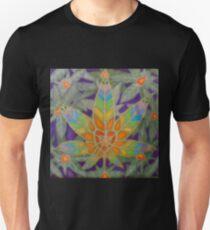 Rainbow Hemp Leaf Unisex T-Shirt