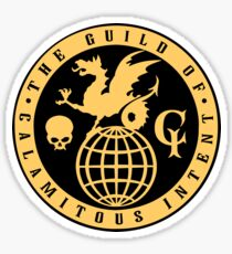 Guild of Calamitus Intent - Business Casual Sticker