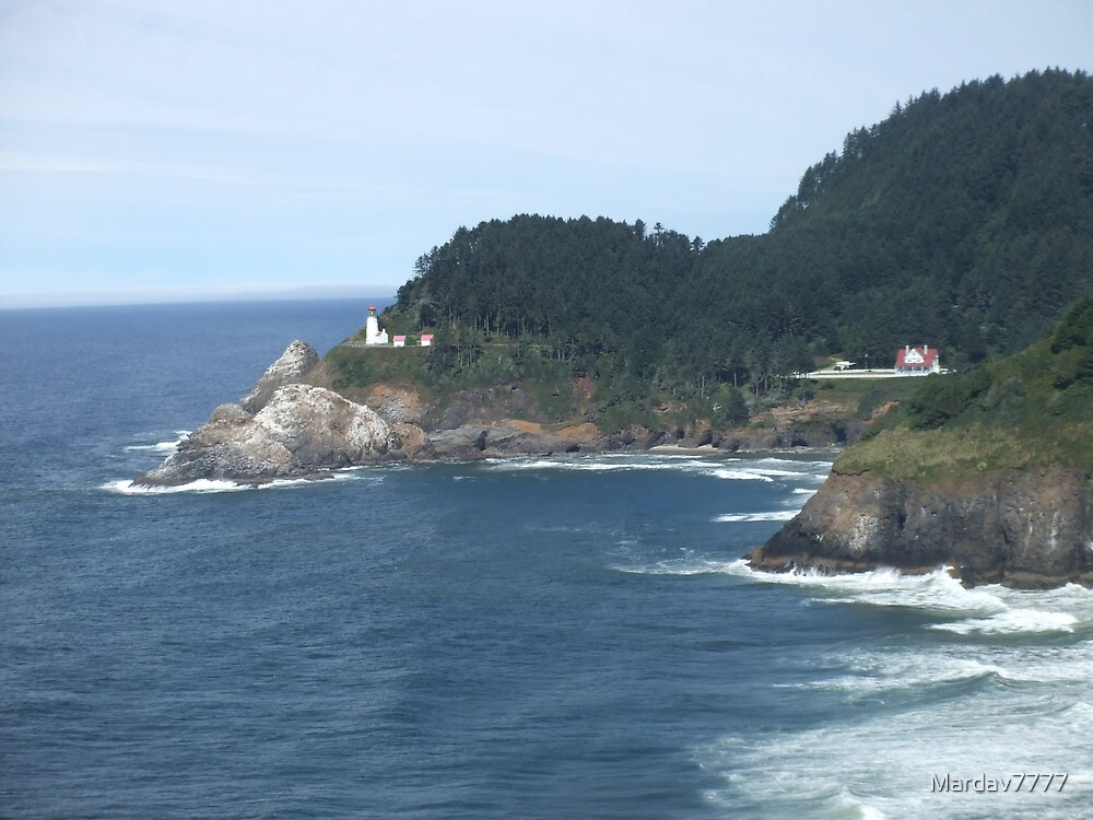Heceta Head Lighthouse - Florence, Oregon by Mardav7777