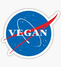 VEGAN NASA  Sticker