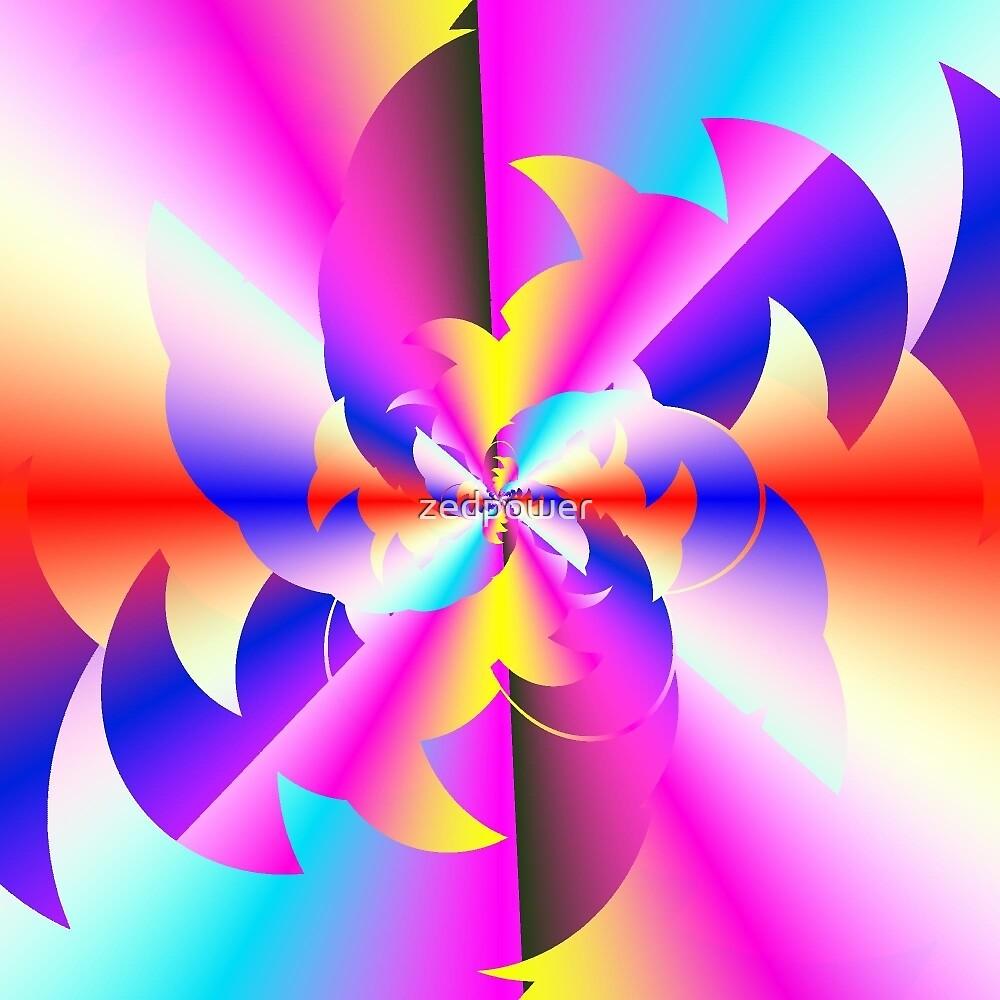 Fractal Rainbow by zedpower