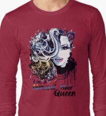 I'M A NATURAL HAIR QUEEN T Shirt/Tees Long Sleeve T-Shirt