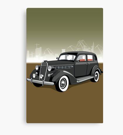 Chrysler gangster car Canvas Print