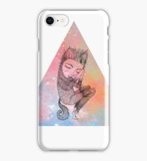 Catskin Nebula Triangle iPhone Case/Skin