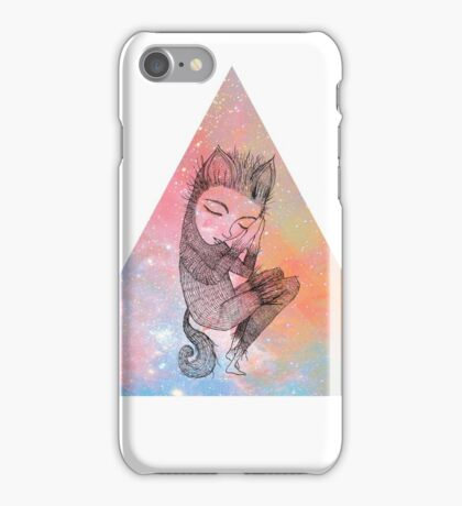 Catskin Nebula Triangle iPhone Case/Skin
