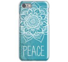 Peace Mandala iPhone Case/Skin