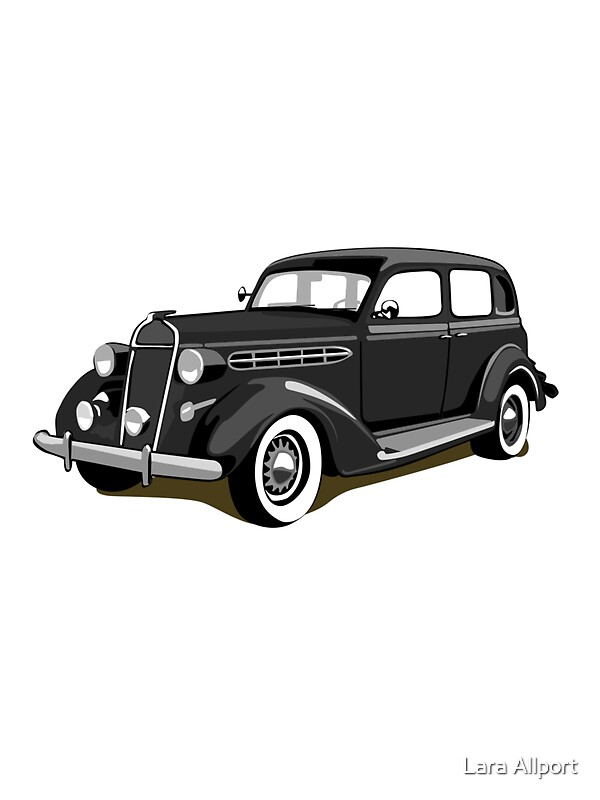 Quot Chrysler Gangster Car Quot Stickers By Lara Allport Redbubble