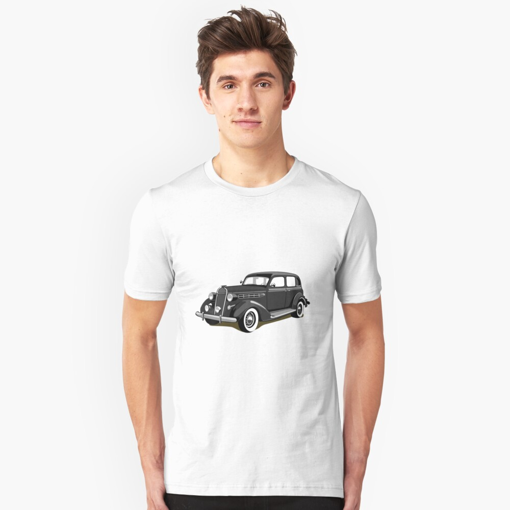 Chrysler gangster car Unisex T-Shirt Front