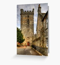 Abbey Church Tower Greeting Card